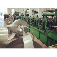 China High Grade Steel Silo Forming Machine , Galvanized Sheet Metal Roll Former on sale