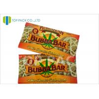 Heat Sealing Printed Laminated Pouches , Back Seal bag Aluminum Foil Cookies Manufactures