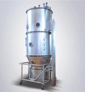 Fluid Bed Dryer 160-240Kg/Batch 0.4-0.6Mpa PLC Control Touch Screen FL-200 Manufactures