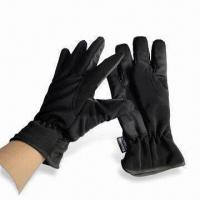 China Ski Gloves, Made of 100% Polyester on sale