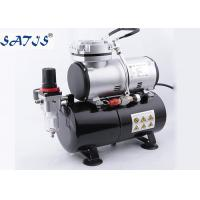 3.0l Air Tank 1/6hp Power Mini Air Compressor For Airbrush Painting Decoration Manufactures