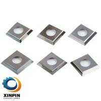 Quality Cutting Square Tungsten Carbide Tool Inserts High Accuracy For Aluminum Cutting for sale