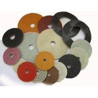 4 Inch 5 Inch Diamond Flexible Polishing Pad With Resin Bond Multi Function Manufactures