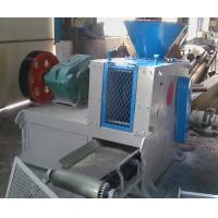 charcoal/coal/coke/gypsum powder roller press briquetting machine Manufactures
