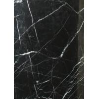 Black Marquina Nero Marquina Gloss Marble Floor Tiles Frost Resistance Manufactures