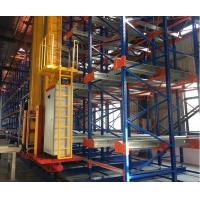 High Efficiency ASRS Warehouse Storage Systems , Labor Saving Automatic Racking System Manufactures