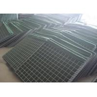 ISO Military Hesco Bastion Barrier / Welded Gabion Box For 3-6mm Wire Diameter Manufactures