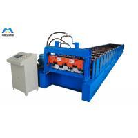 Buy cheap Galvanized Metal Deck Roll Forming Machine Mexico Style 1219mm Material Width from wholesalers