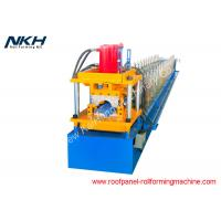 China High Production Metal Tile Forming Machine , Ridge Cap Machine CE Certificate on sale