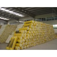 Building Insulation Glass Wool Blanket For Prefabricated Houses