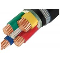 Electrical SWA Armoured Cable 4 Core 1KV Anti Aging Environmental Protection Manufactures