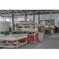 PVC skinning foam board extrusion machine Manufactures