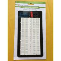 Aluminum Backing Solderless Circuit Board , White Breadboard Circuits Projects Manufactures