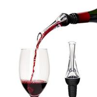 Custom Laser Engraving Logo Detachable Easy Cleaning Portable Instant Wine Aerator Pourer Manufactures