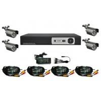 4CH Digital Video Recorder Kits CCTV Security System Manufactures