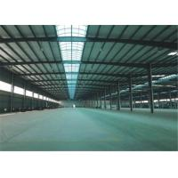 China Export to Philippines high quality large span steel structure frame construction building steel workshop on sale