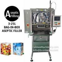 3-25L Single-head BIB Aseptic Filler for Sterile Products Bag in Box Aseptic Filling Machine for sale