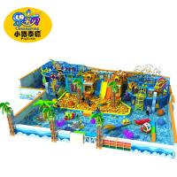 China Snow Theme Soft Indoor Playground Equipment Big Capacity For Kids Castle on sale