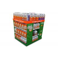 4 Sided Pallet Cardboard Pallet Display Case Portable Simple Structure Easy Assembly Manufactures