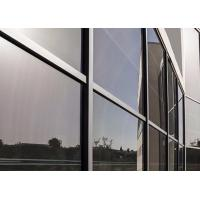 Easy Install Low E Replacement Glass , High Efficiency Low E Clear Glass Manufactures