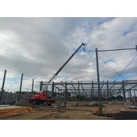 Prefabricated Structure Steel Worksop Wide Span Metal Frame Building Manufactures