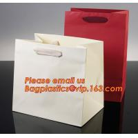 Luxury shopping paper bag, different types design custom paper shopping bag Manufactures