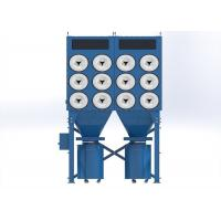 High Efficiency Flour Mill Dust Collector Remove Harmful Dusts F7 - F9 Filtration Manufactures