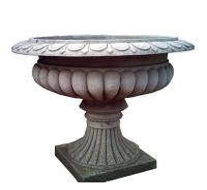 Garden Decoration Cast Iron Flower Pots Folk Art Style 15 Years Lifespan Manufactures