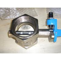 EN593 / BS5155 / MSS SP-67 O - ring nickel plated cast iron hale butterfly valve Manufactures