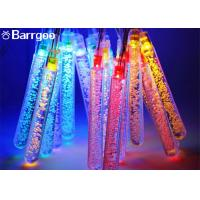 Fairy Solar Powered Outdoor Icicle Christmas Lights , Solar Powered String Garden Lights 30LED Manufactures