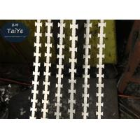 Industrial BTO-11 Razor Wire Mesh Fencing 700mm Coil Diameter Used In Grass Boundary Manufactures