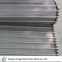 China Flat Spiral Conveyor Belt/Spiral Wire Belting for Food Industry on sale