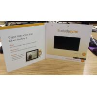 new products 4.3inch 7inch 10inch 256mb custom printing tft lcd screen video brochure,prom
