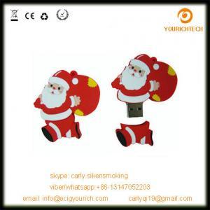 China Christmas Gift Promotional USB Flash Drive Cartoon Character USB Flash Drive on sale
