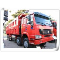 HOWO 12 wheels dump truck 8x4 30 tons loading tipper lorry / dumper truck with warranty 15000km Manufactures