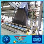 1.0mm black color hdpe geomembrane for pond liner Manufactures