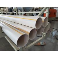 China PVC Water Pipe Making Machine , PVC Pipe Production Line , New Design on sale