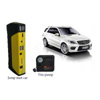 China Auto Battery Booster Jump Starter , 12V Car Jump Starter With Air Compressor on sale