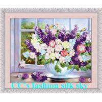 China 2014 new style,silk embroidery,Needlework,DIY DMC Cross stitch,Sets For Embroidery kits,fl wholesale