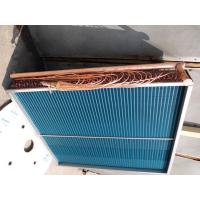 Φ9.52mm Copper Tube With Aluminium Fin Air Cooled Heat Exchanger With Hydrophilic Aluminum Fin Manufactures