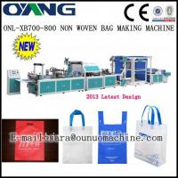 ONL-B 700-800 New design high speed non woven fabric bag making machine Manufactures