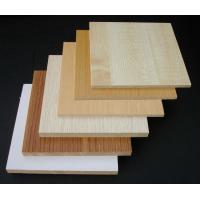 Waterproof Hardwood Decorative MDF Board / Construction Wood Veneer MDF Panels Manufactures