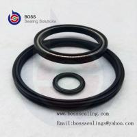 Filled PTFE Spring Energized Lip Seal,PTFE Double Lip Oil Seal,PTFE CARBON GRAPHITE Black Seals Manufactures