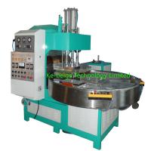 Blister Sealing Machine turn-Table H. F Welder Plastic Welding Machine for Toothbrush pack