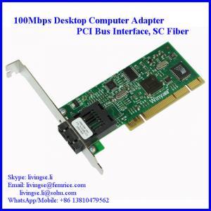 100Mbps NIC Card, PCI Desktop Computer Fiber Optic Network Adapter, SC Fiber, FM559FX-SC Manufactures