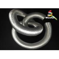 Air Conditioner Auto Air Duct Hose Aluminum Corrugated Protective Sleeve Manufactures