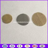 China 3/4 Brass Smoking Pipe Screen Filter mesh replacement made in china on sale
