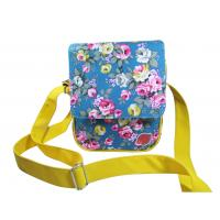 Beautiful Hand Girls Fashion Bags Adjustable Shoulder Strap Floral Print Manufactures