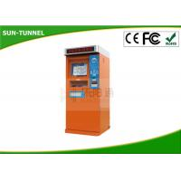 China Automatic Self Service Ticket Machine In Bus Station / Ticket Dispenser Machine on sale