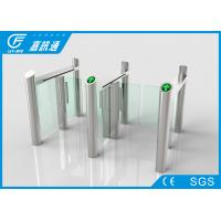 React Quickly Stainless Steel Turnstiles Bi - Direction System Long Service Life Manufactures